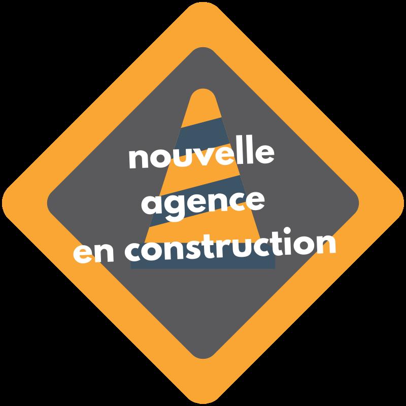 Nouvelle agence en construction